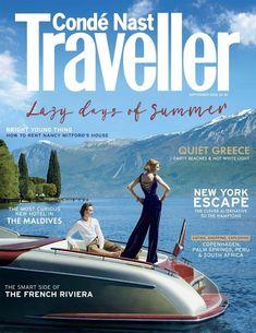 Conde Nast Traveller UK Cover September 2016 Cover (Conde Nast Traveller UK)