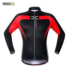 Buy Anhvuu Thermal Fleece Cycling Jersey Shirt Casual Jacket Long Sleeve  Black Red Size S Authentic from Reliable Anhvuu Thermal Fleece Cycling  Jersey Shirt ... 7252414af