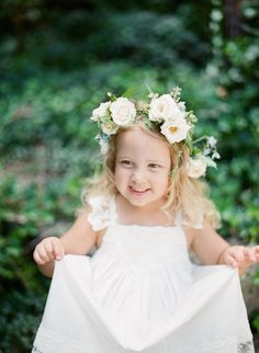This cutie! http://www.stylemepretty.com/2015/10/08/blowing-rock-north-carolina-mountain-town-wedding/ | Photography: Almond Leaf Studios - http://almondleafstudios.com/
