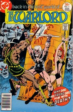 The Warlord #7  DC Comics  Written and drawn by Mike Grell  Great body of work!