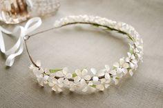 Nail Polish Flowers, Nail Polish Jewelry, Nail Polish Crafts, Diy Hair Bows, Diy Bow, Diy Ribbon, Diy Flower Crown, Flower Crown Hairstyle, Bead Jewellery