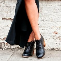 I could wear my black boots with one of the maxi skirts.