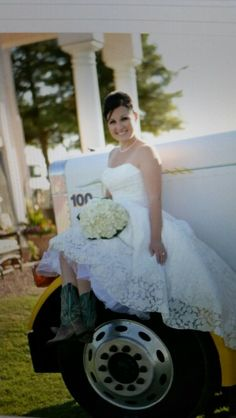 A truckers wife :) I will do this when we get married