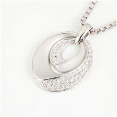 【買取】Pt900 K18WG ダイヤモンド ネックレス/専門鑑定士があなたの商品を高額査定!全国どこでも自宅にいながら申込から買取まで完了します♪