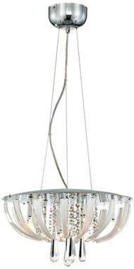 Crystal Luxe Suite Modern Pendant Chandelier - #EUU0689 - Euro Style Lighting
