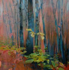 Thanksgiving-Rain in a Coastal Forest 2 -- Randall David Tipton