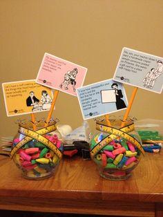 Centerpieces for Teacher Retirement Party