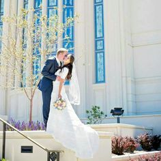 Best day of my whole life! Marrying that man in the Payson Utah temple :)
