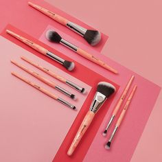 BH Cosmetics | Rose Quartz Brush Set Launch Date: 02/2017