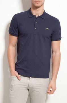 Classic (ie I ll-throw-this-on-if-I-dont-wanna-think) Lacoste Pique Stretch  Polo 43275025b2