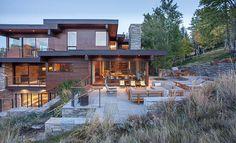 Exquisite mountain contemporary in Idaho: Prospector Residence