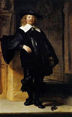 Portrait of Andries de Graeff - Rembrandt