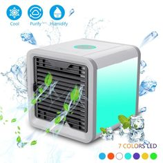 Home Appliances 2 Colors Portable Mini Air Conditioner Fan Usb Air Cooler Cooling System Indoor Humidifying Cooler Fan Air Personal Space Superior Performance