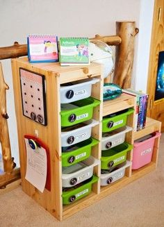 I want to create a workbox system like this for Ali. I wish there were an IKEA somewhere close--we'd have IKEA everything.
