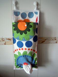 Las Cositas de Teresa: Guarda-bolsas de plástico para Marta
