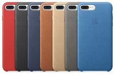 IPhone 7 Plus Leather cases colours