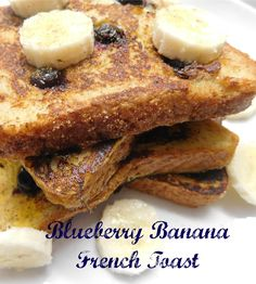 Blueberry French Toast - a super easy, healthy, quick and kid-friendly recipe. Try this breakfast any day of the week!
