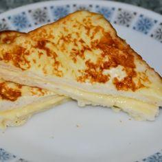 دللي نفسك بفطور لذيذ وجربي الخبز الفرنسي بالجبن ما راح تندمي    #تطبيق_طبخي #طبخي #وصفات