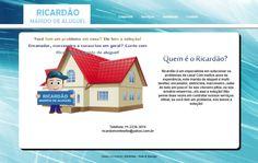 Site do Ricardão - Marido de Aluguel