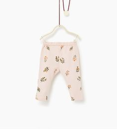 ZARA - KIDS - Floral trousers
