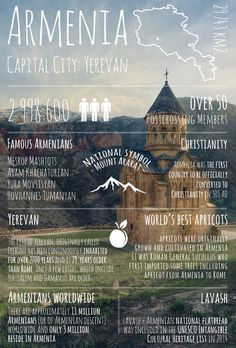 Greetings from . Armenia / Greetings from. series / Postcards / Postallove - postcards made with love Armenian History, Armenian Culture, Travel List, Travel Plan, Travel Europe, Travel Hacks, Travel Guide, Places Around The World, Around The Worlds