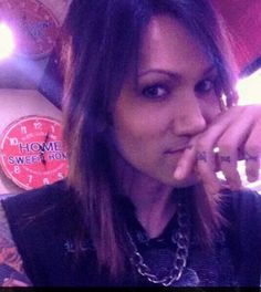 """Ashley Purdy...I like this pic without Hello Kitty. Why do people send a grown man Hello Kitty stuff? I know he has a shirt that has an image of Hello Kitty but...the writing on said shirt definitely doesn't say """"Hello Kitty""""."""