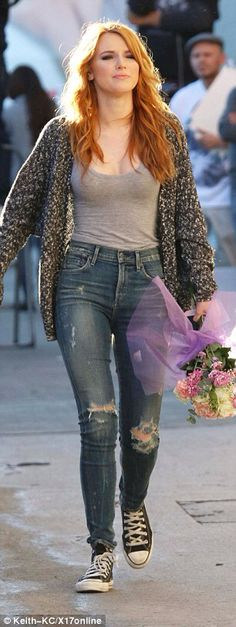 Bella Thorne - casual style