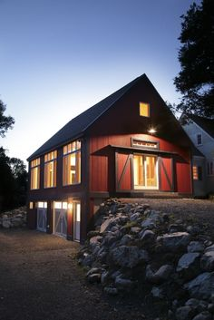 barn house | Post & Beam Barn by Yankee Barn Homes