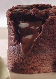 Fofos de Mousse de Chocolate