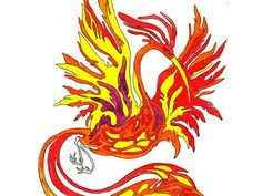 """The Firebird is a Russian version of the legend of the Phoenix. Usually the bird is a lure for brave young men who seek fame and fortune. The Firebird is a large bird of extraordinary beauty, enveloped in fire – """"her feathers were of burnished gold, and her eyes of Oriental crystal."""" Source: Anna Perepechenova #russia #traditions #magic #fairytales"""
