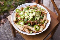 The BEST healthy vegan Chili Cheese Fries - Fo Reals Life - choose your fave toppings!!