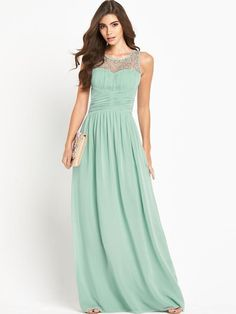 Little Mistress Embellished Maxi Dress | very.co.uk