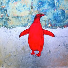 Wild Penguin - Love this work by Louise McNaught