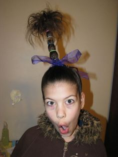 Crazy Hair Day!!!!!Wow, I want to do this!!!!
