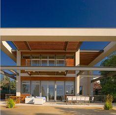 Fachadas de casas modernas, todo para diseñar una hermosa casa [Fotos] | Construye Hogar