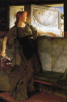 A Love Missle - Sir Lawrence Alma-Tadema