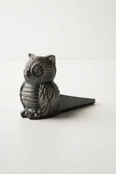 Owl Doorstop - Anthropologie.com