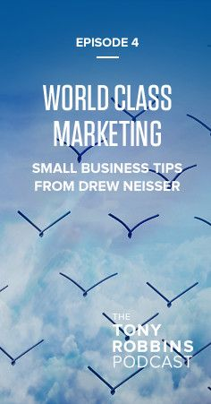 In this episode of the Tony Robbins Podcast, you will hear from Drew Neisser – author of The CMO's Periodic Table: A Renegade's Guide to Marketing, and Founder and CEO of the NYC-based social media and marketing agency Renegade – as he discusses how businesses can create value-added marketing and use that to connect and engage with their customers on a new level.