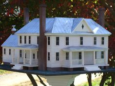 Farmhouse Replica Birdhouse