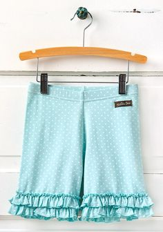 Matilda Jane, Hello Lovely, Summer Sky Shorties size 2.
