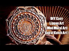 Mirror Mosaic, Mirror Art, Art N Craft, Diy Art, Cardboard Picture Frames, Indian Wall Art, Mural Art, Wall Murals, Paper Crafts Magazine