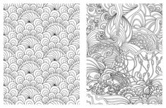 Posh Adult Coloring Book Soothing Designs For Fun And Relaxation English Antistress