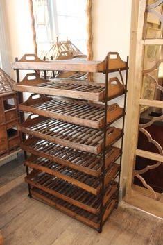 Charming 19th Century Apple Racks