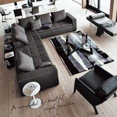 ボーコンセプトが似合う家。暮らしを見つめ家具を60年以上つくり続けてきたBoConceptと、住まいのあり方をずっと考えてきたダイワハウスに共通するアイデンティティ。