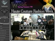 FTV 2009 backstage, Fashion Show couture by on aura tout vu. Haute Couture Fashion Week Paris