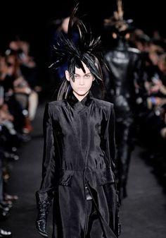 Fall 2012 Trend: Masked Avengers--Ann Demeulemeester