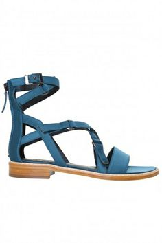 The New Gladiator Sandals You'll Wear All Summer #refinery29  http://www.refinery29.com/gladiator-sandals#slide2