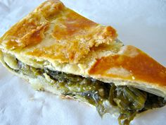 RECEITAS DIET-ABAD: Torta de Escarola