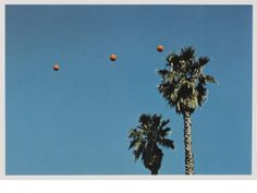 John Baldessari, Throwing Three Balls to Get a Straight Line (Best of Thirty-Six Attempts), 1973