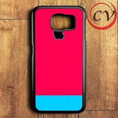 Blue Pink Strip Samsung Galaxy S7 Case